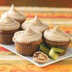Zucchini Caramel Cupcakes