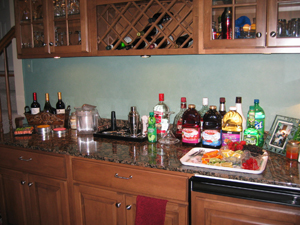 Setting up Your Home Bar