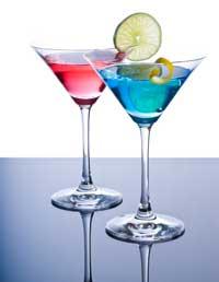 Bleu Martini