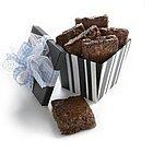 Chocolate Raspberry Truffle Brownies