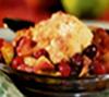 Spiced Cranberry Apple Cobbler
