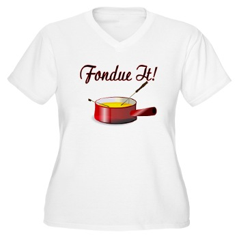 Fondue Ladies TShirt