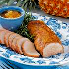 Pineapple Glazed Pork Tenderloin