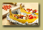 Grilled Banana Dessert