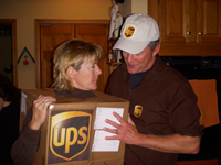 halloween costumes for couples - Ups Man Halloween Costume