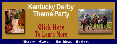 Kentucky Derby Theme Party