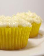 Lemon White Chocolate Cupcakes