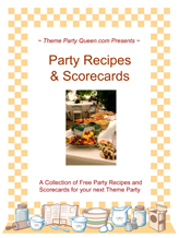 Free Bunco Scorecard and Recipes