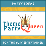Theme Party Queen Logo