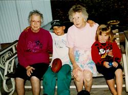 Aunt Maude, Gram, Kids