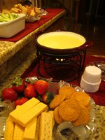 Lemon Cream Fondue