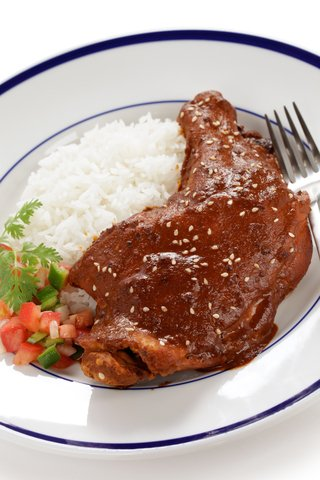 Chicken With Chocolate Sauce