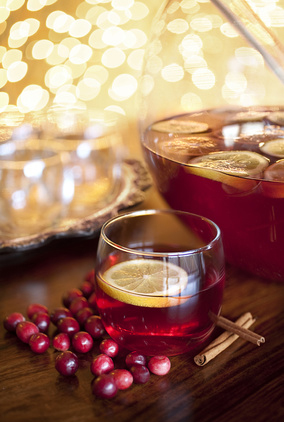 Mulled Pomegranate Sipper