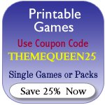 Printable Games Coupon