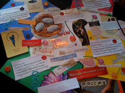 What will be on YOUR vision board?