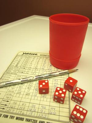 Hooray For Yahtzee!